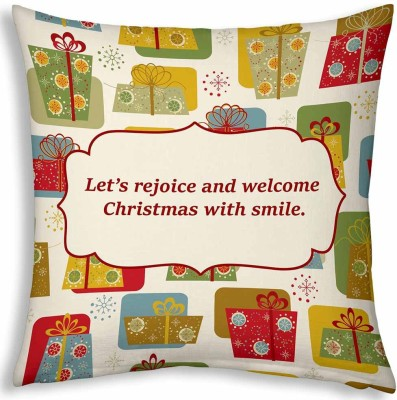 Little India Inspirational Quotes Print Decorative Cushion