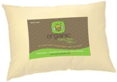 Organic Baby Bee Plain Bed/Sleeping Pillow