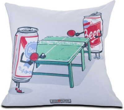 Beerosphere Beer Ping Pong Decorative Cushion