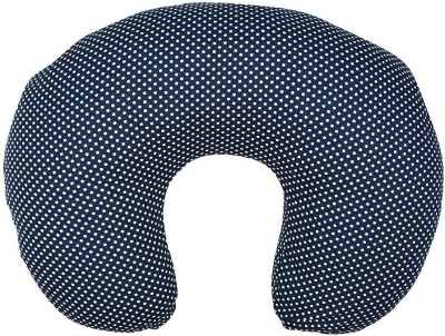 Wobbly Walk Polka Dots Feeding/Nursing Pillow(Pack of 1, Blue)