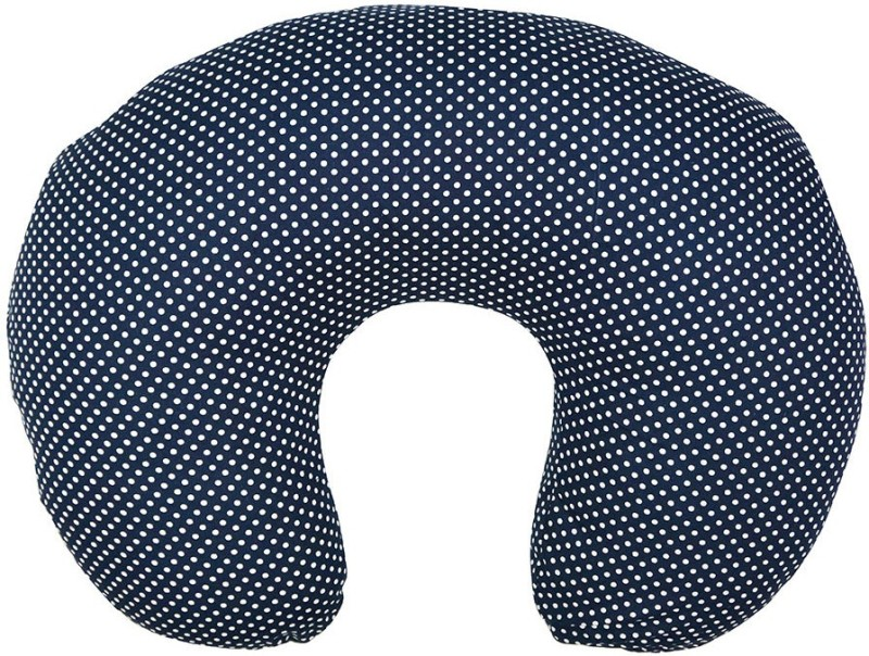 Wobbly Walk Polka Dots Feeding/Nursing Pillow Pack of 1(Blue)