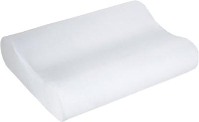 SJ Blank White Bed/Sleeping Pillow(Pack of 1, White)
