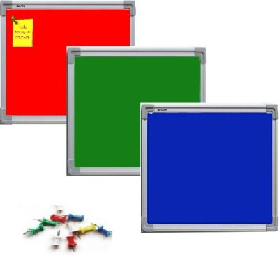 NECHAMS NB_BLU_GRN_RED_151_TF FABRIC Bulletin Board(BLUE , GREEN , RED)