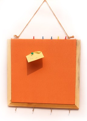 Ivei with Keyhook Pin Board Bulletin Board(Orange)
