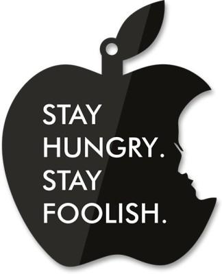 Utpatang Jobs - Stay Hungry Stay Foolish Pin up Hangout (Big) Acrylic Bulletin Board