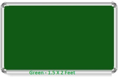 Milestouch Exim Green 1.5 X 2 Pinup Soft Green Board Bulletin Board(Green)