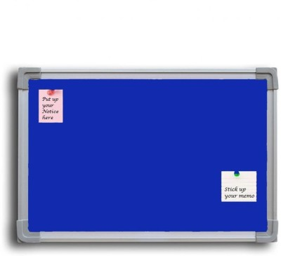 Jagdish Traders Concrete Board Bulletin Board(Blue)