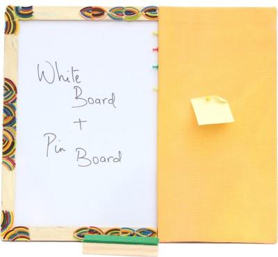 Ivei Choodi Art Enclosed Hobby Board Bulletin Board(Yellow)