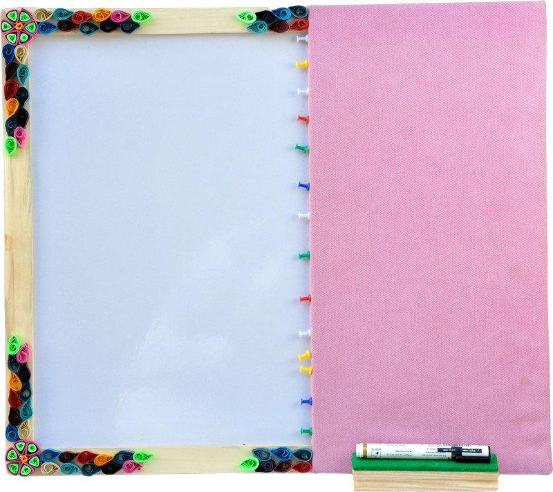 Ivei Quilling Enclosed Hobby Board Bulletin Board(Purple)