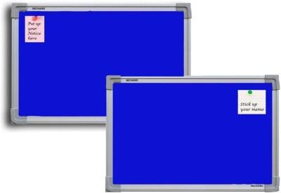 Jagdish Traders Concrete Board Bulletin Board(Blue)