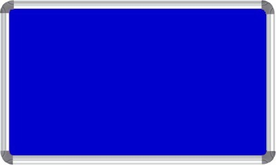 Nechams NB_BLUE_151UF Fabric Bulletin Board(Blue)