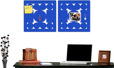 Marine Pearl Groovy RB2 Pin Up Board Bulletin Board(Blue)