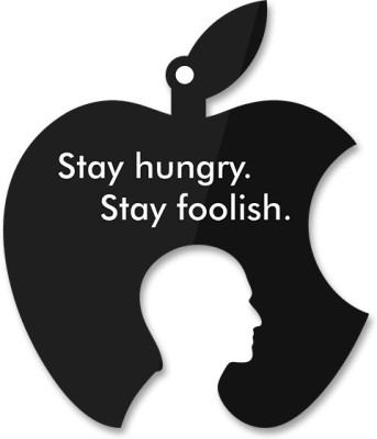 Utpatang Steve Jobs - Stay Hungry Stay Foolish Pin up Hangout (Big) Acrylic Bulletin Board