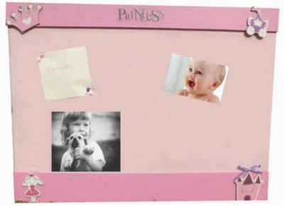 Kidoz Kidozpinb Cork Bulletin Board(Pink)