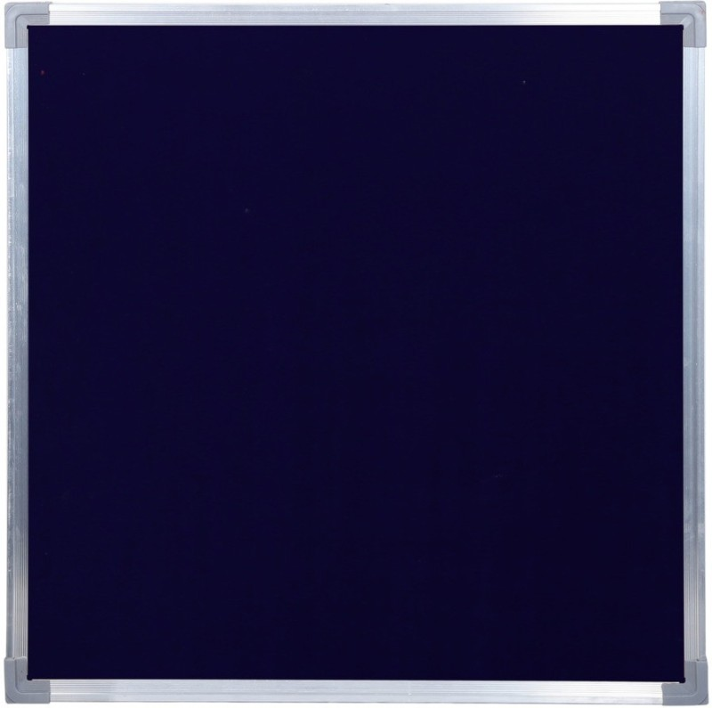 Homedmart HDM Blue Notice Board 1 x 1 (Classic) Pinup Board Bulletin Board(Blue)