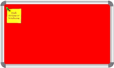 NECHAMS NB_RED_152_UF_P1 FABRIC Bulletin Board(RED)