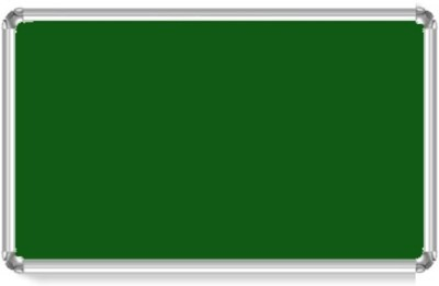 Bansal Paper Industries 1.5 x 2 Feet Light Weight Notice Boards Bulletin Board(Green)