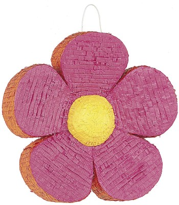 Unique Daisy Flower Pinata Pull String Pinata(Multicolor, Pack of 1)
