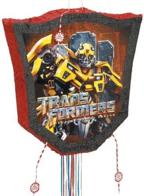 Unique Transformers Pinata Pull String Traditional Pinata(Multicolor, Pack of 1)