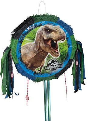 Unique Jurassic World Pinata Pull String Pinata(Multicolor, Pack of 1)