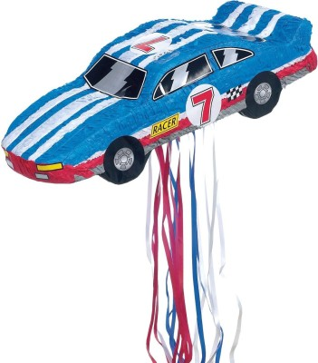 Ya Otta Pinata Pinata P39300 Pull Apart Pinata, Race Car Traditional Pinata(Multicolor, Pack of 1)