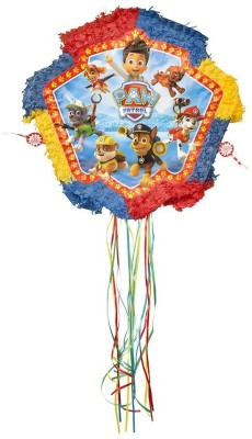 Unique PAW Patrol Pinata Pull String Pinata(Multicolor, Pack of 1)