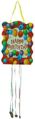 Smartcraft Happy Birthday -Balloons Pull String Pinata