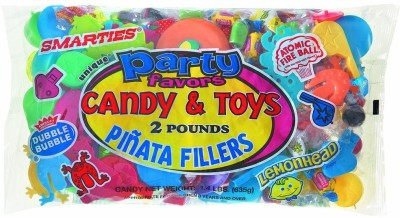 Unique Pinata Filler, Assorted 2lbs Traditional Pinata(Multicolor, Pack of 1)
