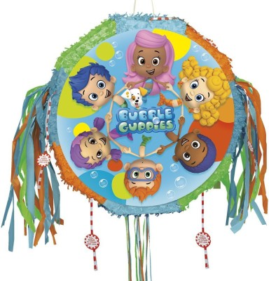 Bubble Guppies Pinata with Pull String Pull String Pinata(Multicolor, Pack of 1)