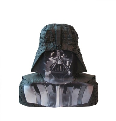 Unique Darth Vader Star Wars Pinata Traditional Pinata(Black, Pack of 1)