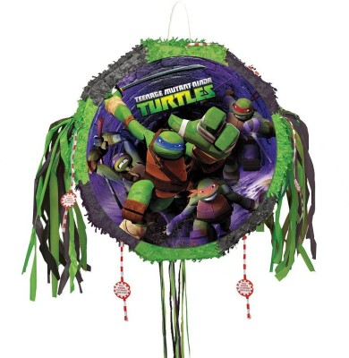 Teenage Mutant Ninja Turtles Mutant Ninja Turtles Pinata, Pull String Pull String Pinata(Multicolor, Pack of 1)