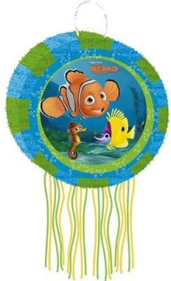 Disney Finding Nemo Pinata Pull String Pinata(Blue, Pack of 1)