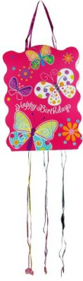 Smartcraft Happy Birthday -Butterly Pull String Pinata