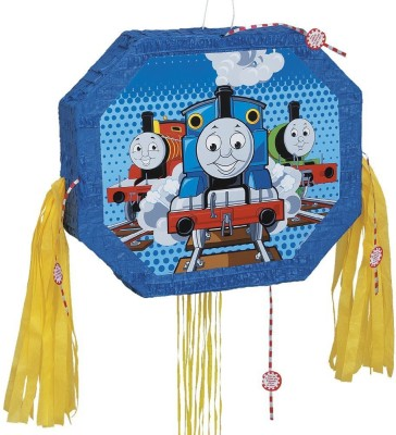 Unique Tank Engine Pinata, Pull String Pull String Pinata(Multicolor, Pack of 1)