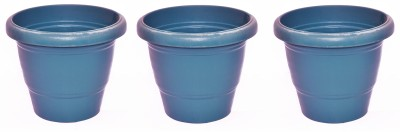Blessed Ring Plant Container Set(Pack of 3, Plastic)