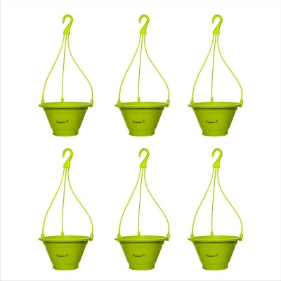 Planters Green Nursery Hanging Plant Container Set