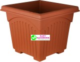 Easy Gardening 14 Inch Square Plant Cont...