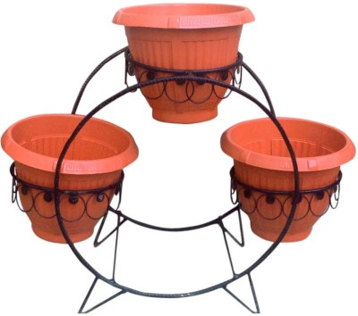 Amir Enterprises Plant Container Set(Metal)