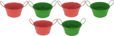 EZ Life Plant Container Set(Pack of 6, Metal)