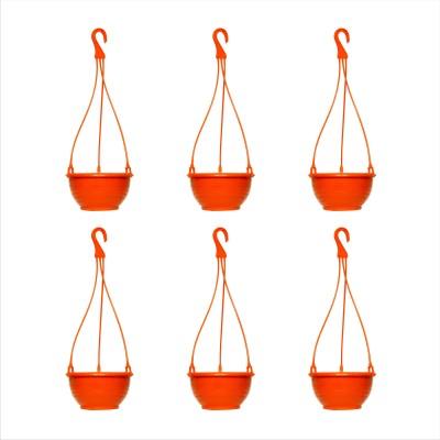 Planters Orange Venus Hanging Plant Container Set