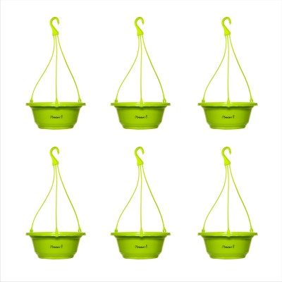 Planters Green Karishma Hanging Plant Container Set
