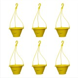 Planters Yellow Nursery Hanging Plant Co...
