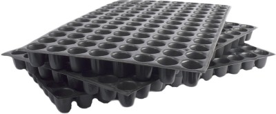 Pyramid Reusable 104 Holes Seedling Tray (Set of 3) Plant Container Set