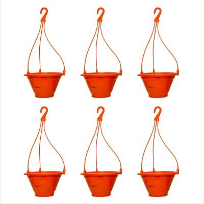 Planters Orange Nursery Hanging Plant Container Set