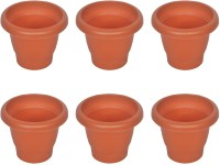 Real Seed Planter Highly Durable And Elegant Plant Container Set(Pack of 6, Plastic)