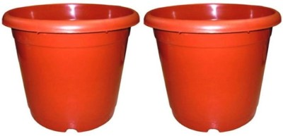 Amir Enterprises Plant Container Set(Terracotta)