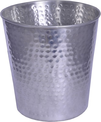 Sutra Decor Nickle plated Planter / Dustbin Plant Container Set(Metal)