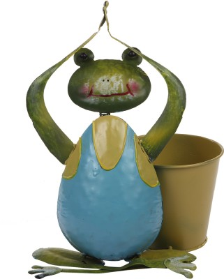 Wonderland Frog With Pot Plant Container