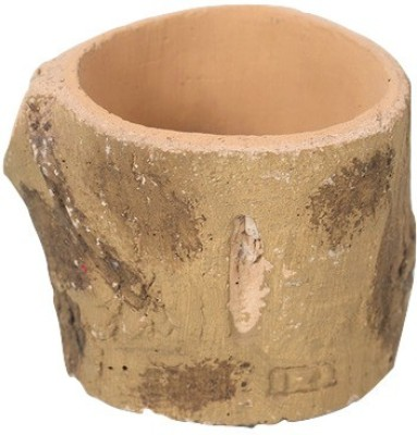Gaia Pottery Gaia Woodlike planter - Cute Plant Container