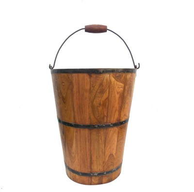 Indune Wooden Bucket - Large Plant Container